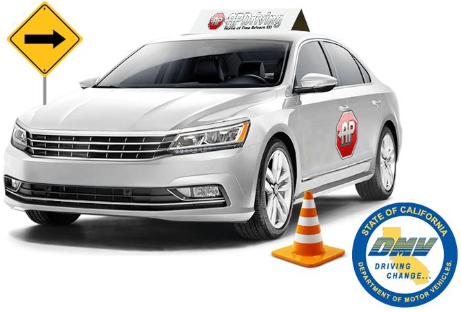AP Driving DMV logo