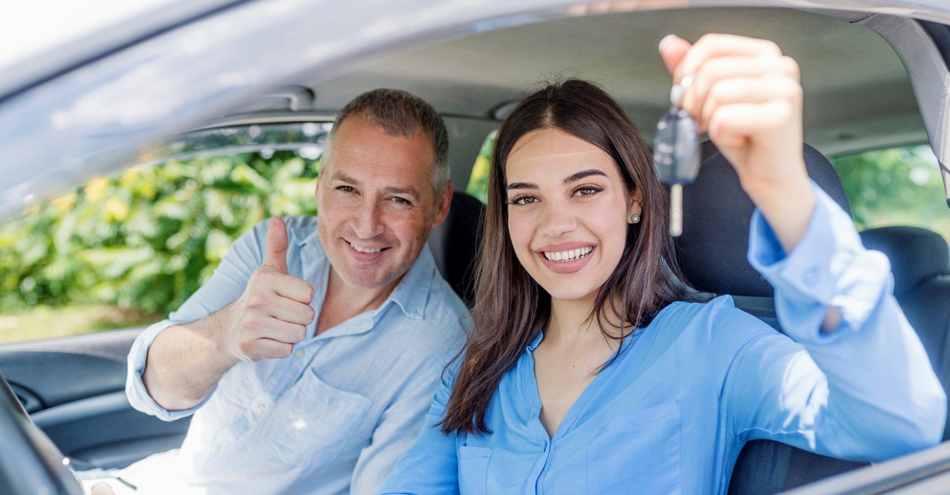 Driving Instructor Student Car Keys